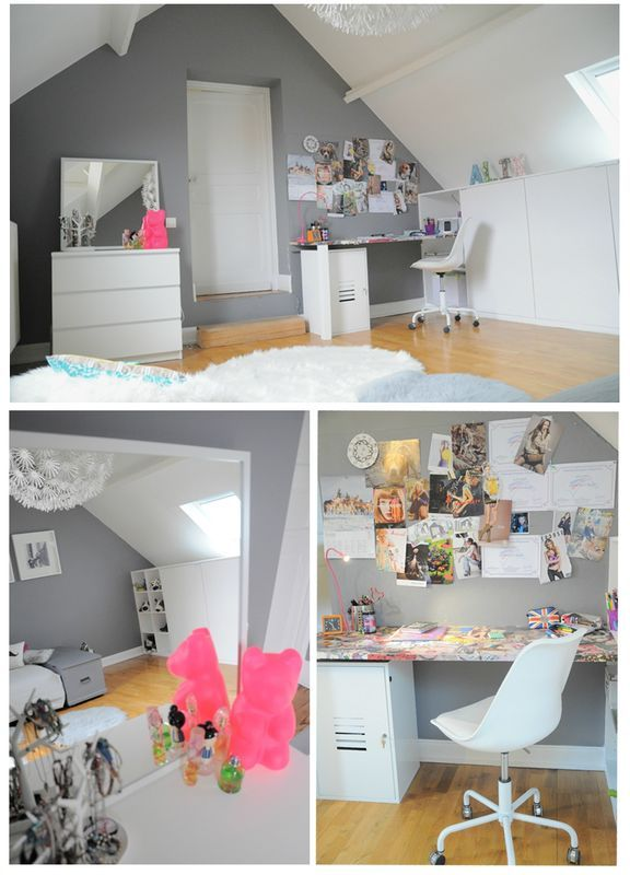 deco chambre fille ado diy. Black Bedroom Furniture Sets. Home Design Ideas