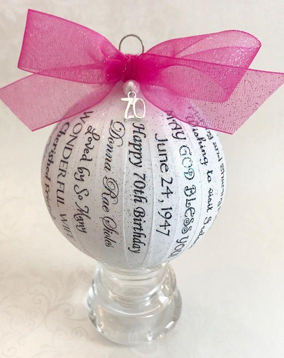 70th Birthday Gift For Women Mom Friend