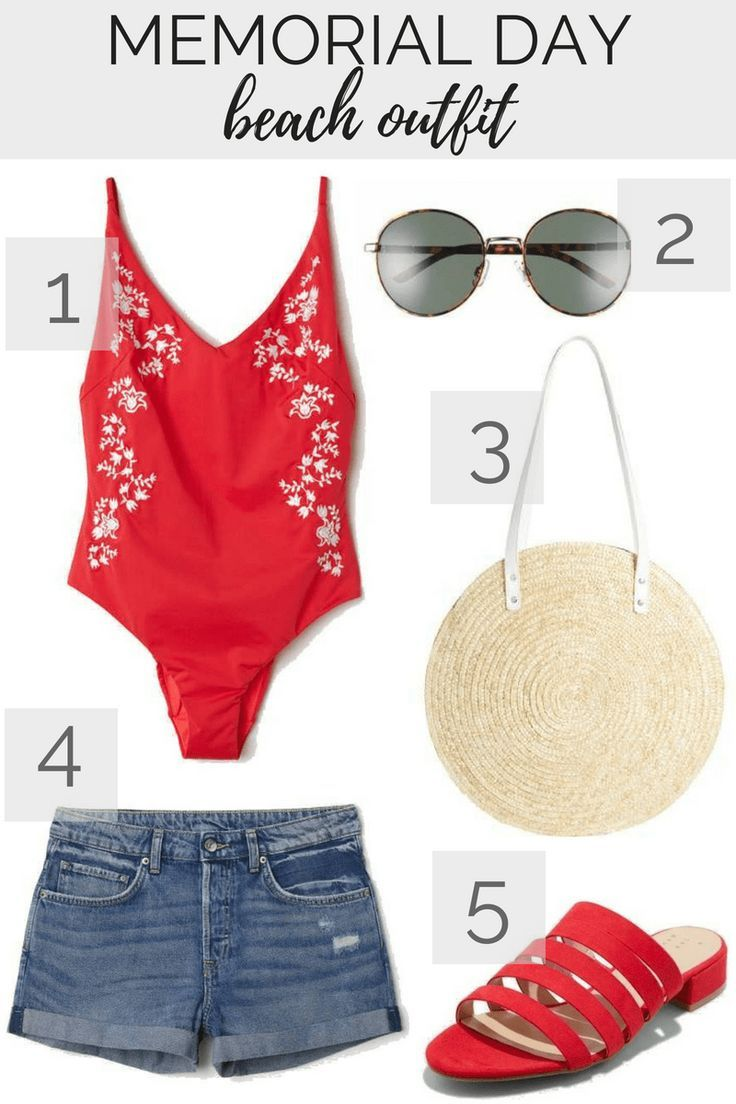 42a4141ee3 5 Memorial Day Outfit Ideas: Beach or Pool Outfit | Spring Style | Spring  Fashion | Women's Style | Style Inspiration | Spring Trends | Fashion  Inspiration ...