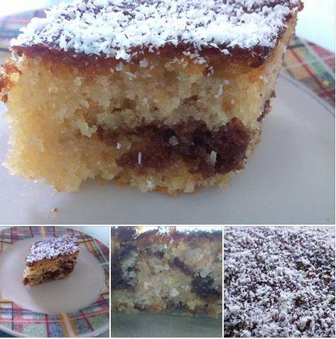 Σιροπιαστο γλυκό με καρύδα πεντανοστιμο αξιζει να το δοκιμάσεις!! ~ igastronomie.gr