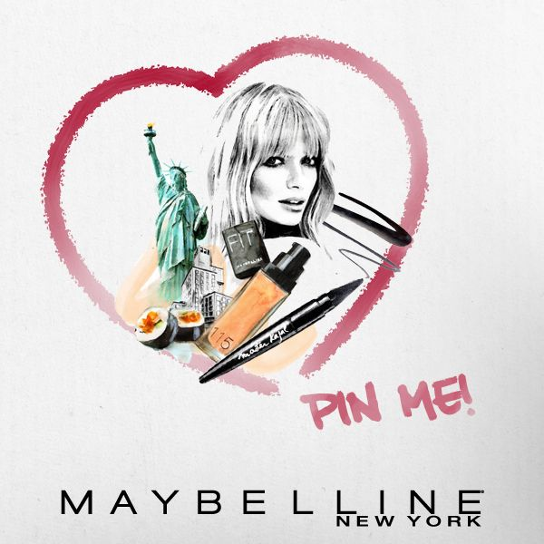 ¡You love MNY, we love you! Participa por un set Maybelline New York haciendo repin a esta imagen.