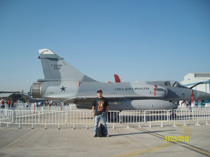 Me and Mirage 2000 Brazilian Air force