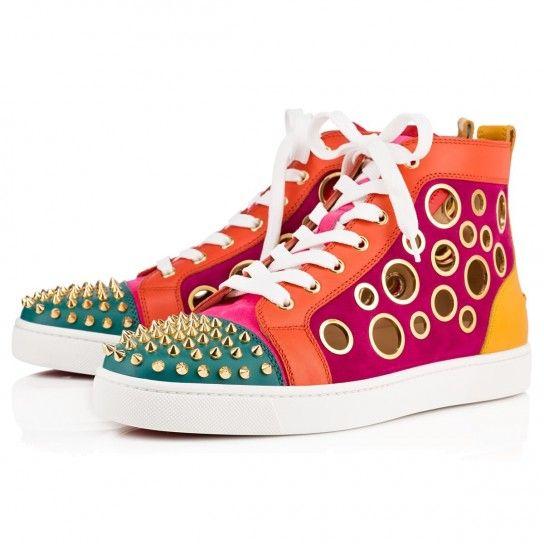 Ecco i nuovi modelli di scarpe da uomo proposti da Christian Louboutin presenta per l'autunno/inverno 2014-2015.