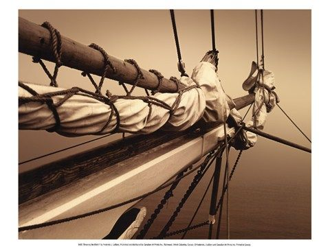 Breaking the mist ii hull shipnautical wall artsailingmistsblack white photographybowsart printspostersdecor