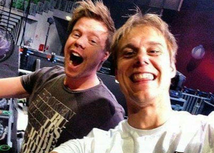 Ferry Corsten and Armin van Buuren ❤️