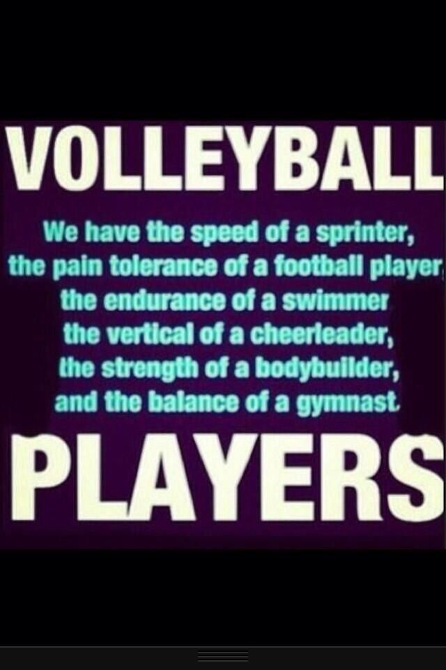 Volleyball players are tough as nails | Volleyball | Volleyball