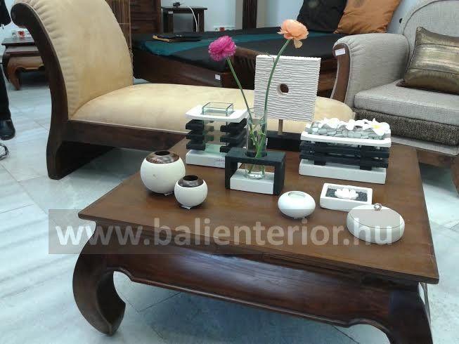 teakfa design bútorok, homokkő termékek