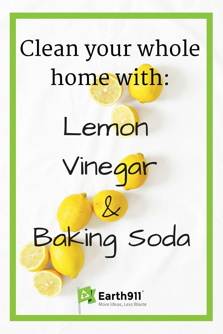 People have been cleaning with household staples like vinegar, baking soda and lemons (or lemon juice) for a long time,  these items are safe and effective. If you clean with these items, you'll buy fewer products, spend less money and have fewer harsh chemicals to worry about.
