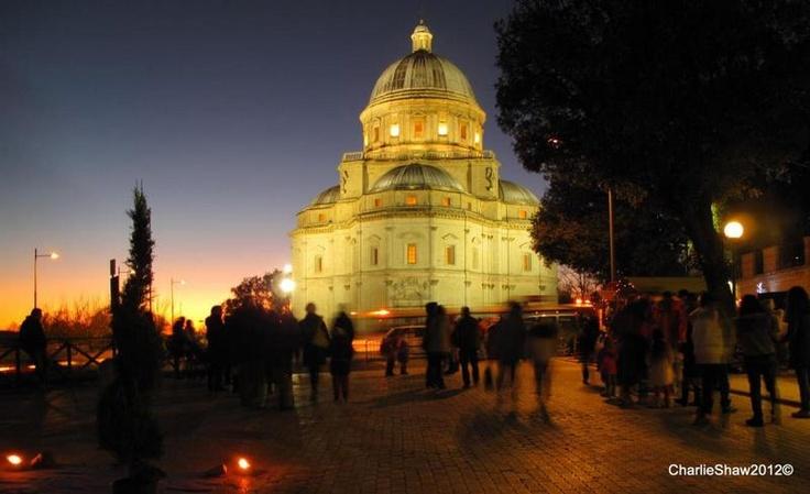 The Consolazione - winter sunset