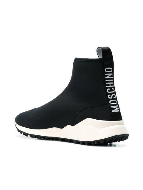 de73ddb6486 Moschino - Logo Sock Sneakers