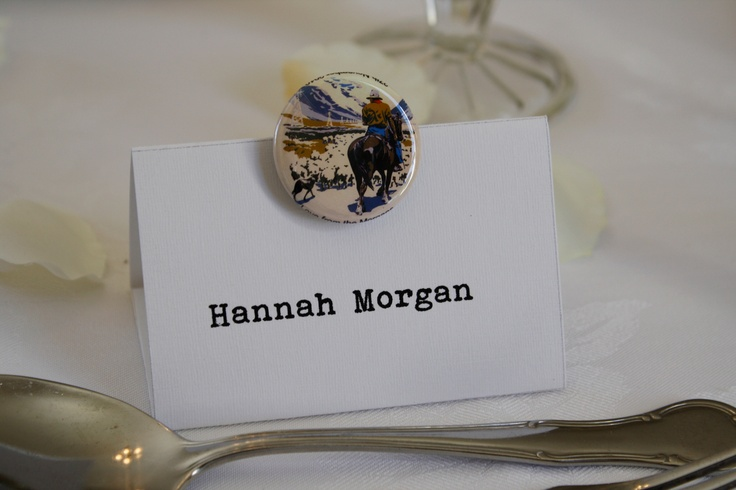 Custom made themed magnet wedding favour