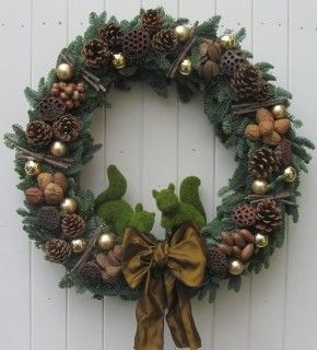 Pine Cones and Acorns: Christmas Wreaths and The Magical Christmas Wreath  Company