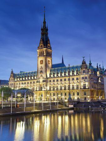 Germany, Hamburg, City Hall (Rathaus)