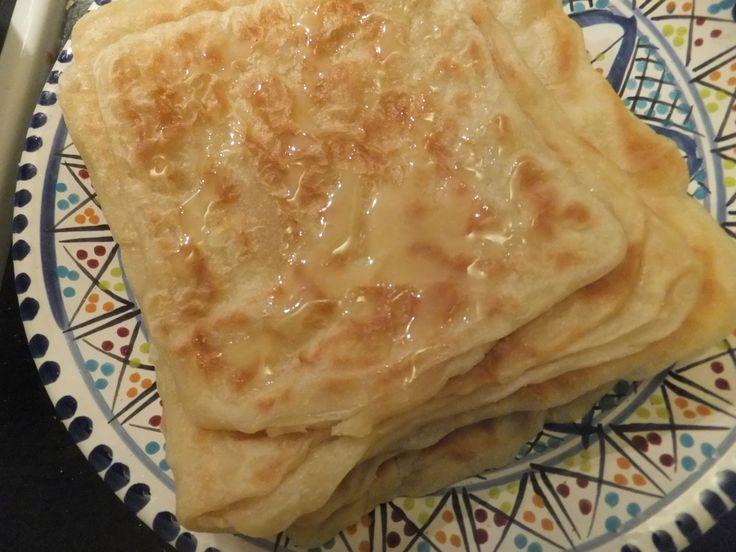 Marokkanske msemen (marokkanske pandekager)