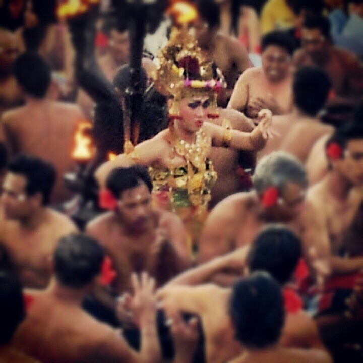 Kecak dance, Uluwaty