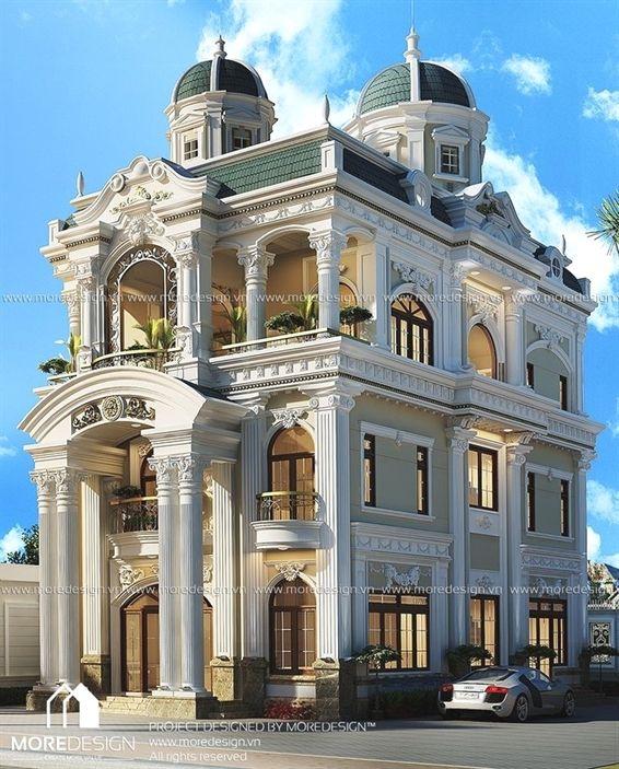 Luxury Palace Exterior Design Classic House Exterior