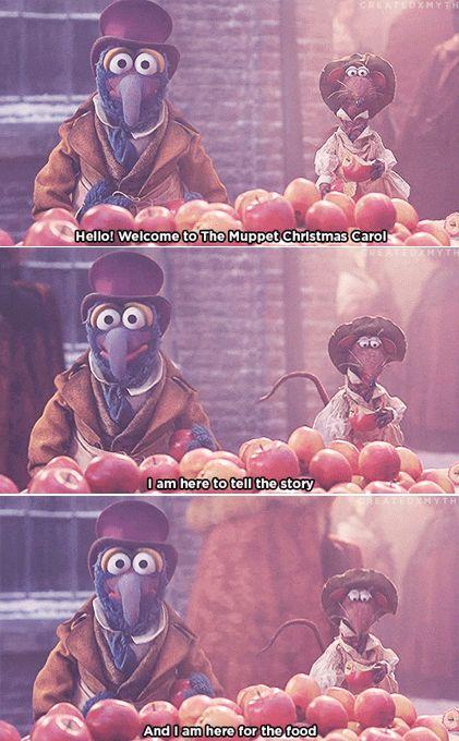"""""""The Muppet Christmas Carol"""", my favorite Christmas movie <3"""