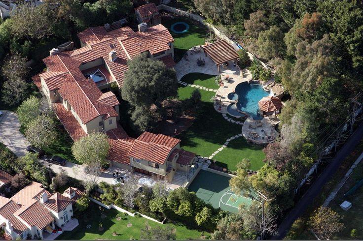 La maison avec jardin de Britney Spears Les maisons de stars dans lesquelles on aimerait habiter