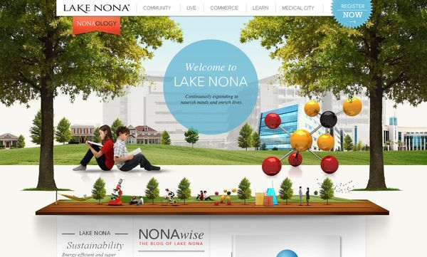 Colorful Web Design | for inspiration