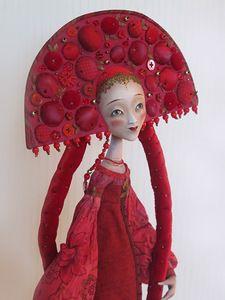 """Cranberry Juice"" by Anna Zueva, doll artist"