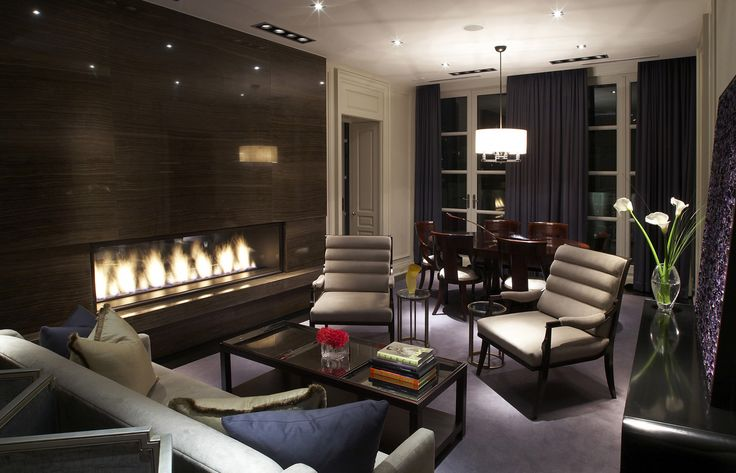 luxury hotels toronto - Hazelton Hotels #Hotel #Luxury #InteriorDesign #LuxuryLiving #fireplace