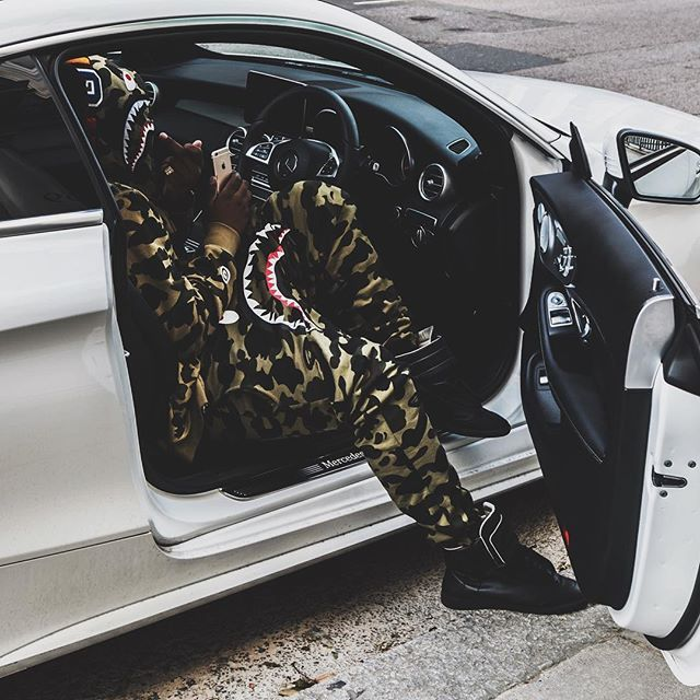 Camo'd all out like I'm in the military..  |  @finley_baker #BangingOnMyChest