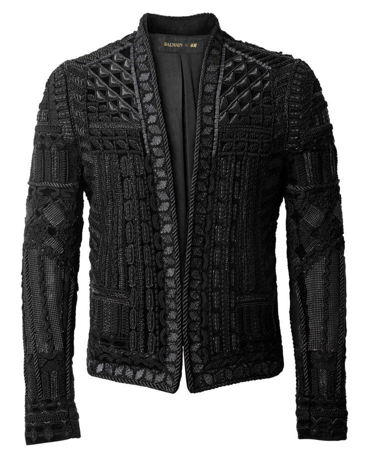Men's Balmain x H&M jacket, $649 Photo: H&M.