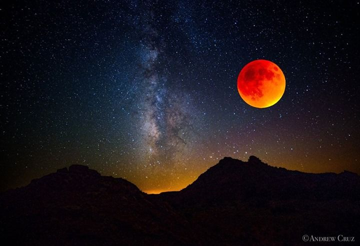 blood moon today in texas - photo #40