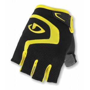 Giro Bravo Cycling Gloves Black/Yellow