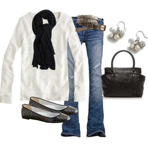 Cute! Cute! Cute!: Fall Clothing, Casual Friday, Fashion Style, Black And White, White Shirts, Black Boots, Fall Outfits, Black White, Comfy Casual