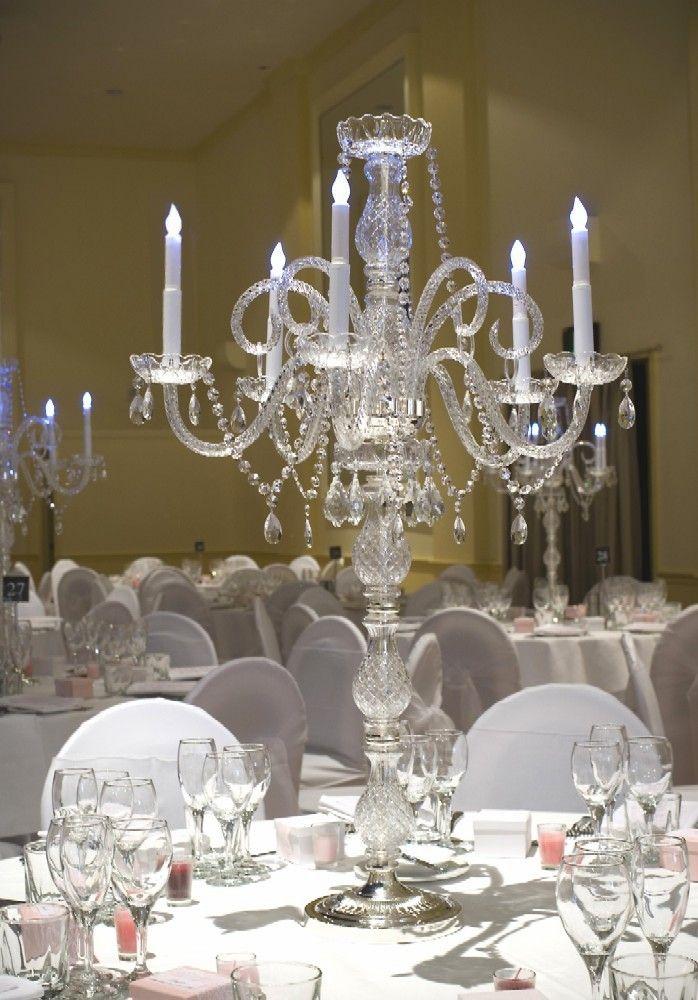 93 best wedding decor images on pinterest flower arrangements crystal glass wedding candelabra center piece decoration on sale cms junglespirit Choice Image