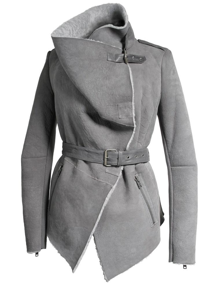 Best 25  Sheepskin jacket ideas on Pinterest | Women's aviator ...