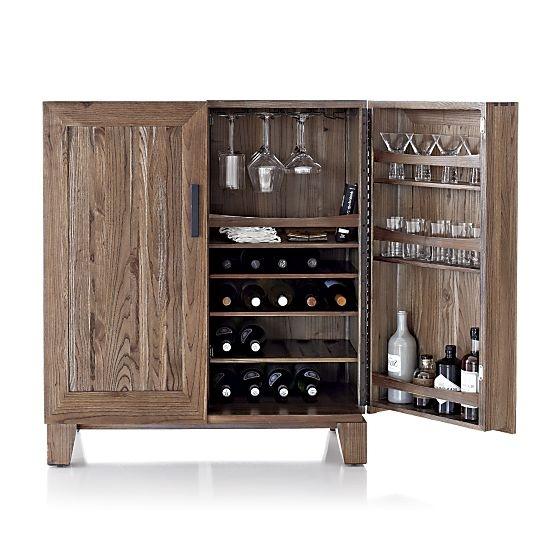 Marin Bar Cabinet in Bar Cabinets   Crate and Barrel