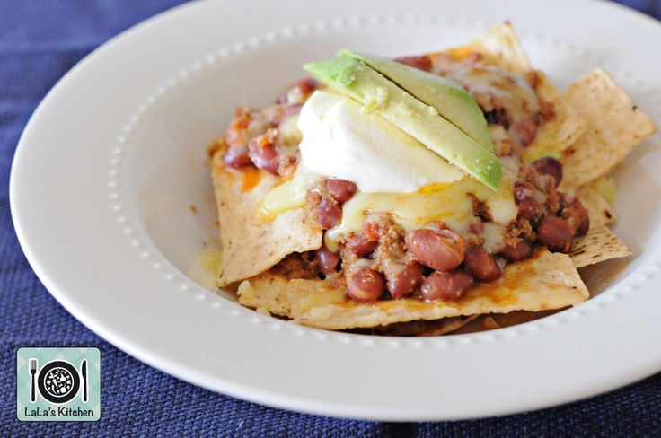 Thermomix Beef and Beans Nachos