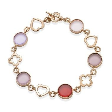 Boheme crystal bracelets by Lilou! Choose between silver or gold-plated bracelet, then add your favorite crystal colors #lilou #bracelet #Boheme #crystal #silver #goldplated