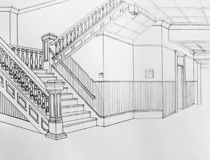 Interior Perspective Drawing The Work Of An Interior Designer Draws Upon  Many Disciplines Including Environmental Psychology, Architectur. Part 9