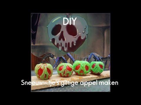 DIY: giftige appel uit het sprookje Sneeuwwitje