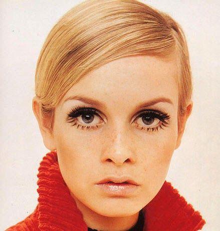 Maquillaje de los sesenta twiggy eyes en esta ocasi n - Estilo anos 60 ...