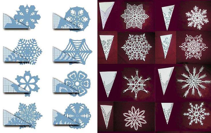 Creare i fiocchi di neve - Didatticarte