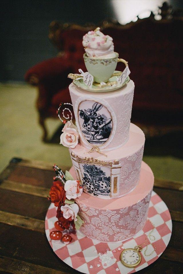 mad hatters tea party alice in wonderland wedding (27)