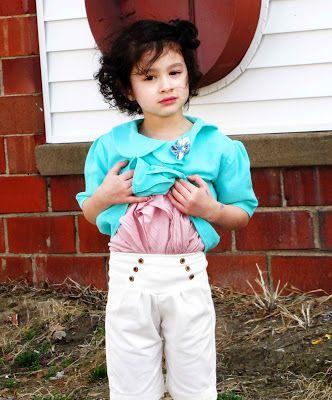mama says sew: Nautical Shorts Tutorial