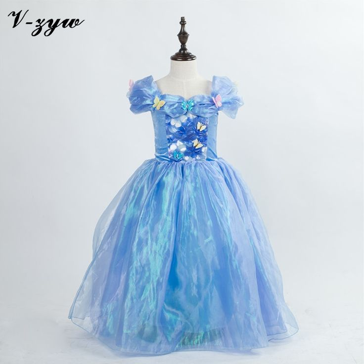 (27.02$)  Watch here - http://aihkp.worlditems.win/all/product.php?id=32584835957 - Childrens evening gowns girl cinderella dress formal dress baby princess dresses party dresses for teenagers cinderella costume
