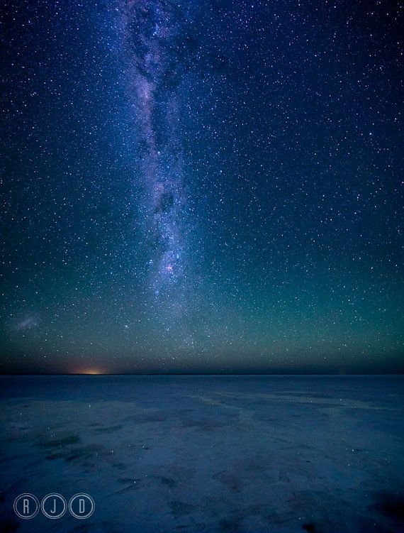 Milky Way Lake Eyre by RJDImages on Etsy