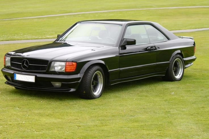 german-cars-after-1945 • 1982 Mercedes 500 SEC AMG...
