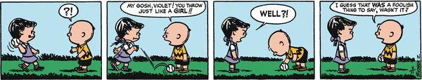 Peanuts Begins Comic Strip, June 14, 2016     on GoComics.com