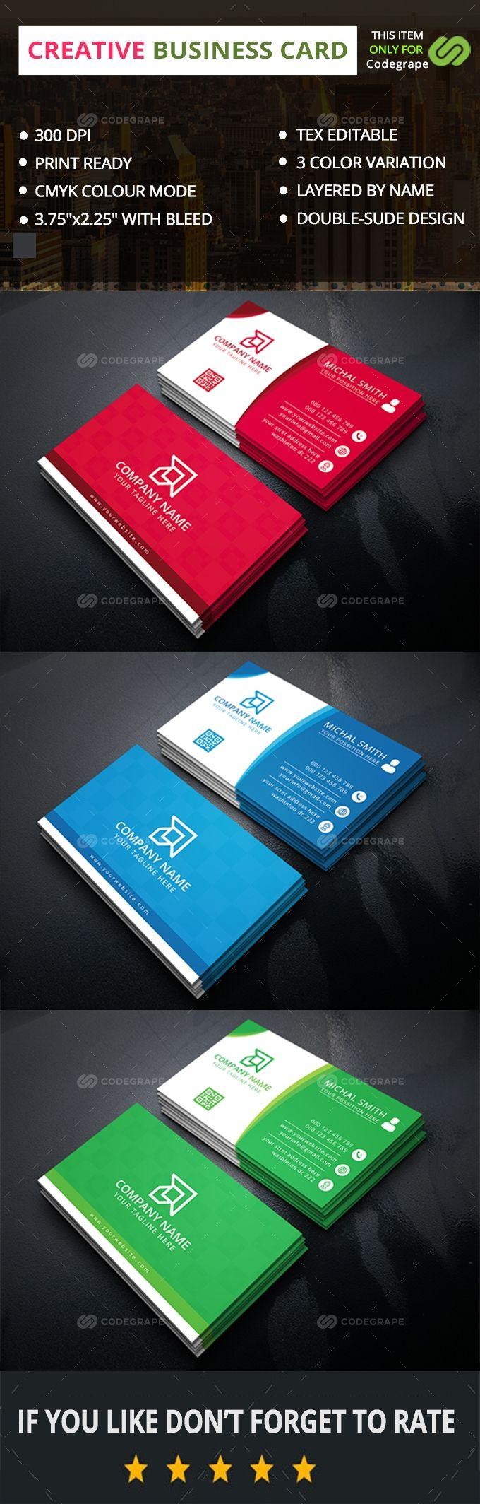 Watermark Design Business Cards Black Business Card Business Card Inspiration Business Card Design