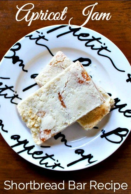 Hickory Farms Apricot Fruit Spread makes this delicious shortbread bar ...