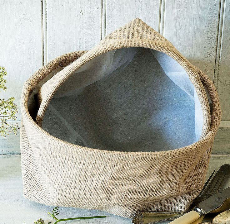 canvas bread baskets (s/2), £16.00