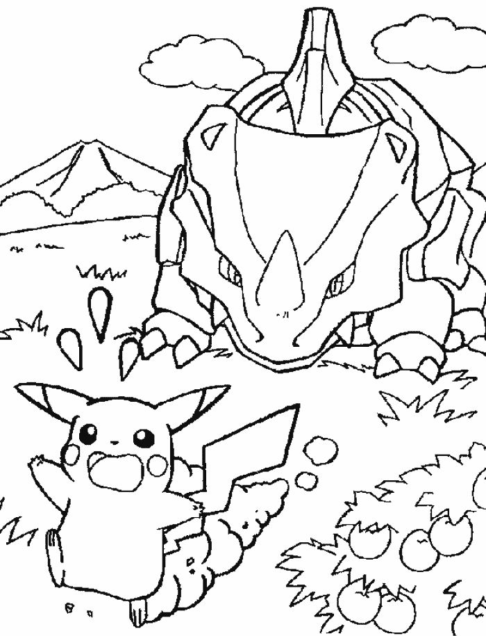 8 Best Pokemon Pics To Colour Images On Pinterest