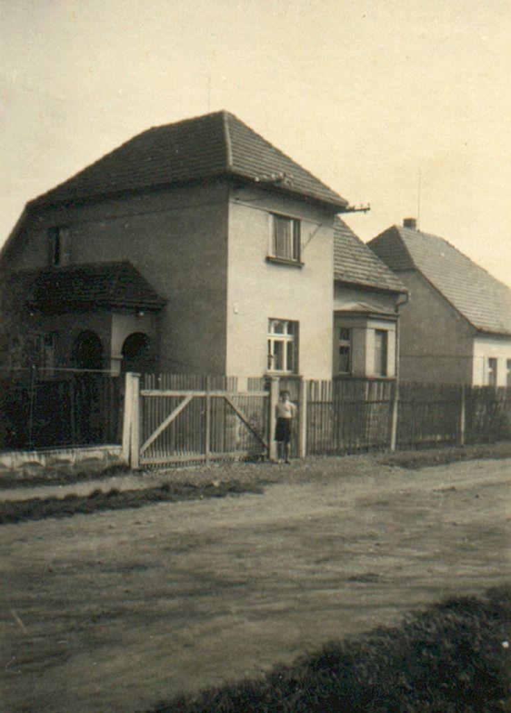 rok 1962 dům v Hornické ulici
